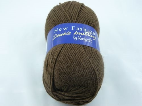 Wool Craft New Fashion Double Knitting Chocolate