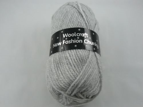 Wool Craft New Fashion Chunky - Silver Cloud