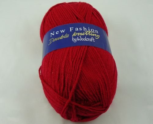 Wool Craft New Fashion Double Knitting Cardinal