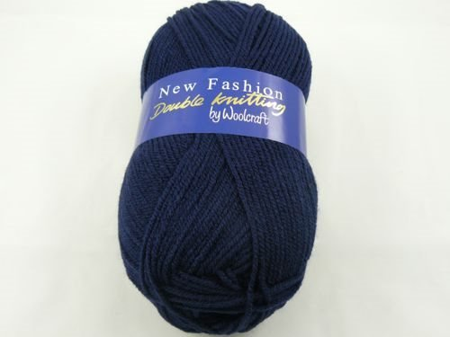 Wool Craft New Fashion Double Knitting Navy