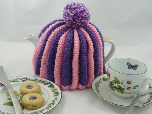 Traditional English Tea Cosy Knitted Tea Cosy Free Knitting