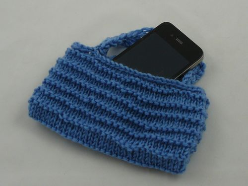 Iphone Handbag Knitted Bags And Purses Free Knitting Patterns
