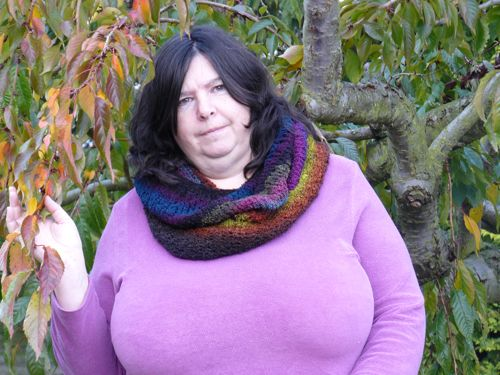 Basic Knitted Cowl Free Knitting Pattern How To Knit Nixneedles Uk