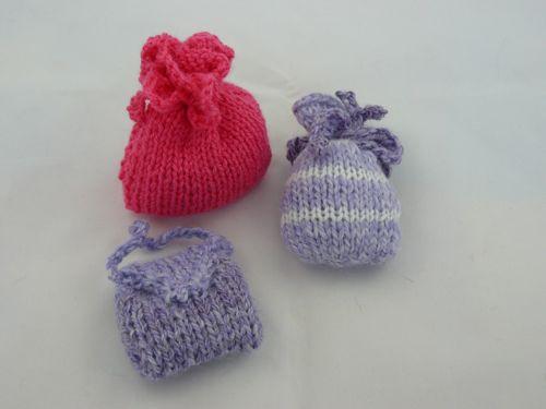 Plain Knitted Lavender Bag Knitted Lavender Bag Free Knitting