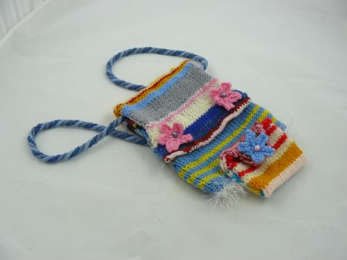 Childs Odds And Ends Bag And Purse Knitted Bags And Purse Free