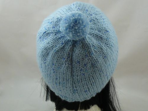 Basic Bobble Hat | free knitting pattern | knitted bobble hat ...