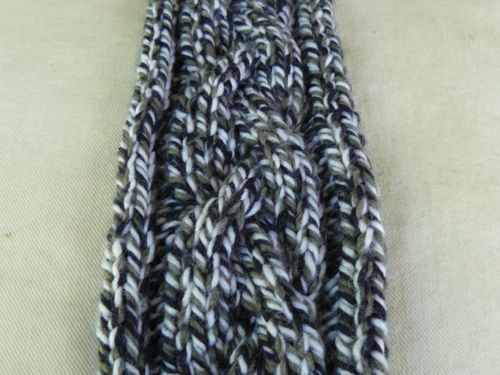 <p>cabled scarf</p>