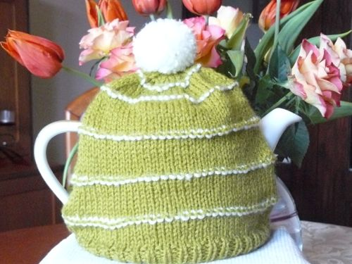 Cactus Tea Cosy Knitted Tea Cosy Free Knitting Pattern