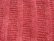 learn how to do stocking stitch and gerter stich rib