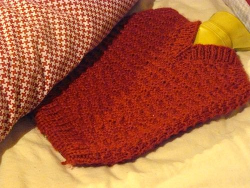 <p>Hot Water Bottle Cover</p>