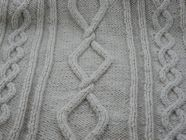 Knitting stitches - Cable patterning