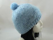 Plain Basic Bobble Hat