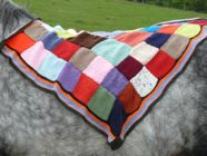 Harriers squared Dog Blanket