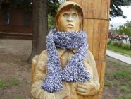 Amber's Plaited Scarf