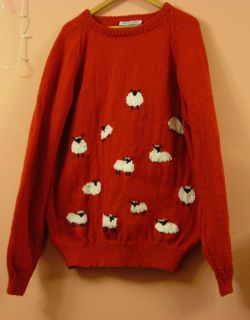 mans sheep jumper