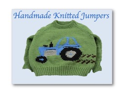 Hand knitted Jumpers; Nixneedles UK