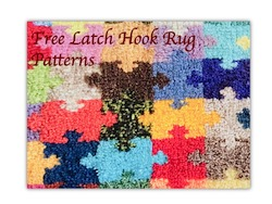 Free Latch Hook Rug Patterns; Nixneedles UK