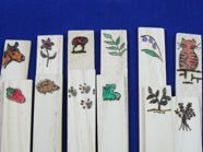 Decorative seed Markers