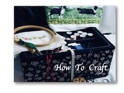 How to Craft, instructions for Crafting; Nixneedles UK